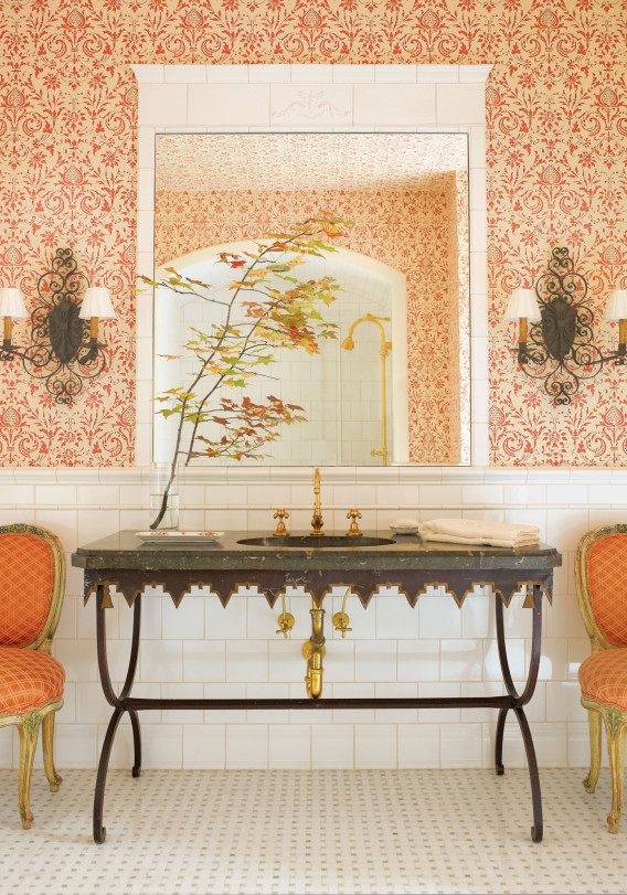 bathroom wallpaper ideas. Wallpaper Ideas for Your Home   The Finer Things