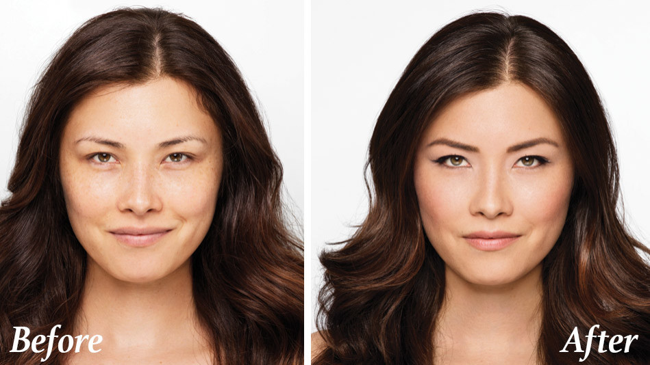 Makeup Solutions To Look Younger Makeup Of A Confident Woman