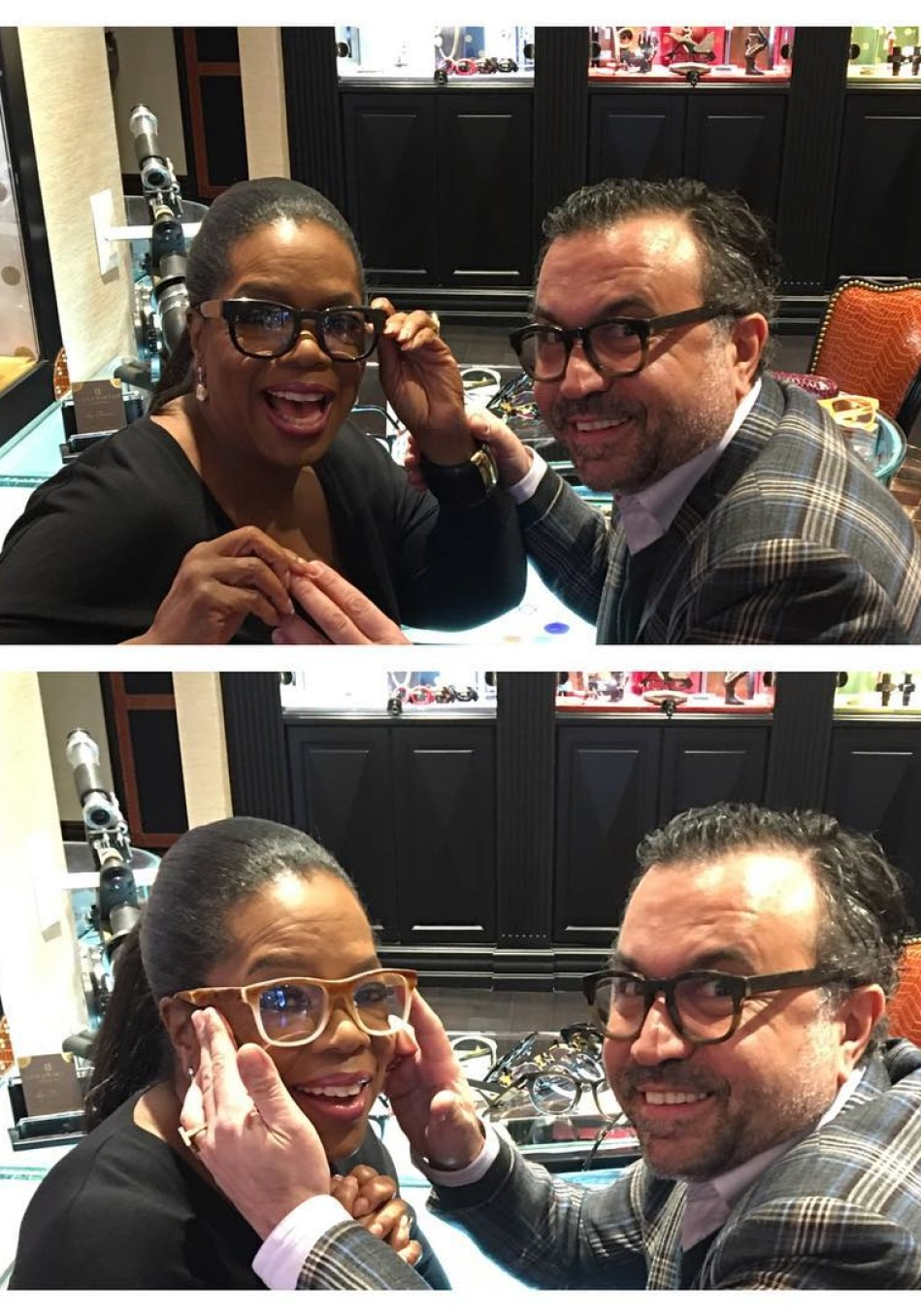 Photos Of Oprah Wearing Glasses