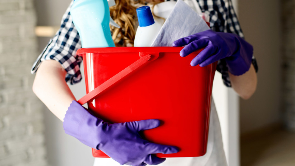 fast cleaning routine for your house - simply clean