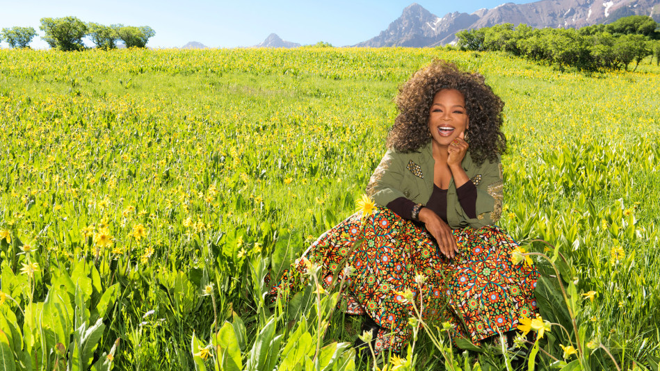 Behind the Scenes of Oprah's April 2017 Cover