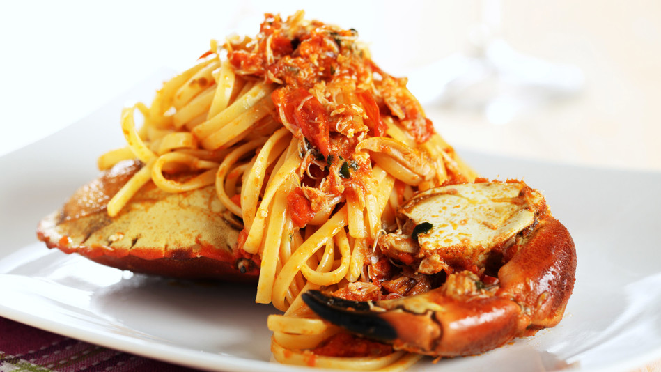 crab fra diavolo spaghetti recipe