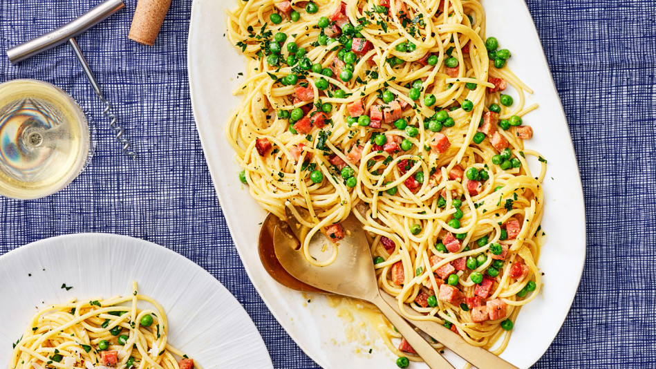 easter carbonara recipe