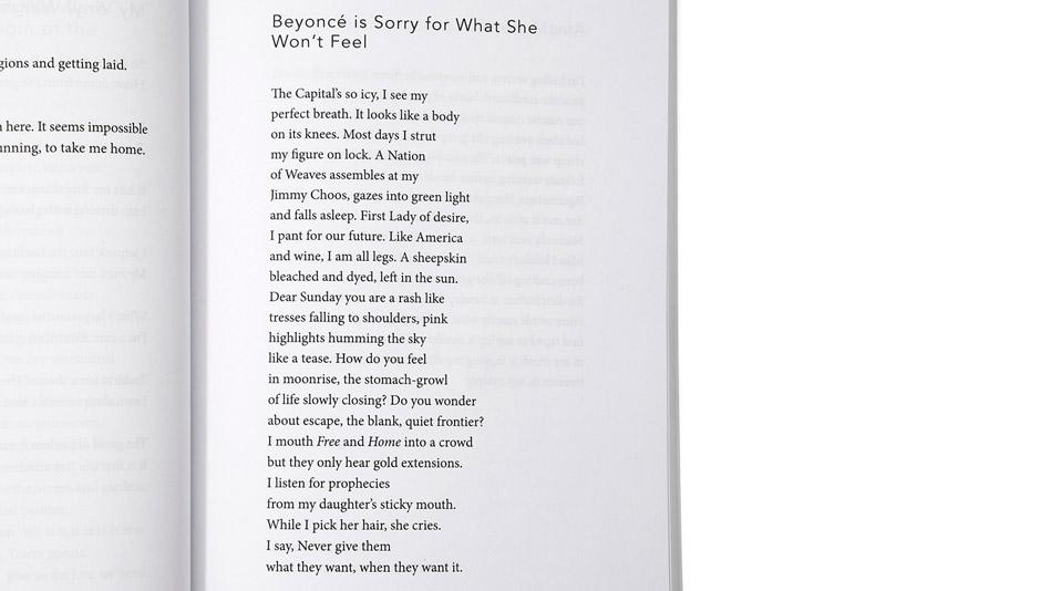 beyonce poem