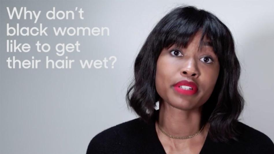 Race Black Women Hair Video