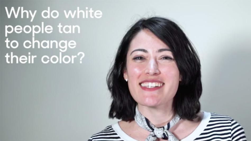 Race White Women Tanning Video