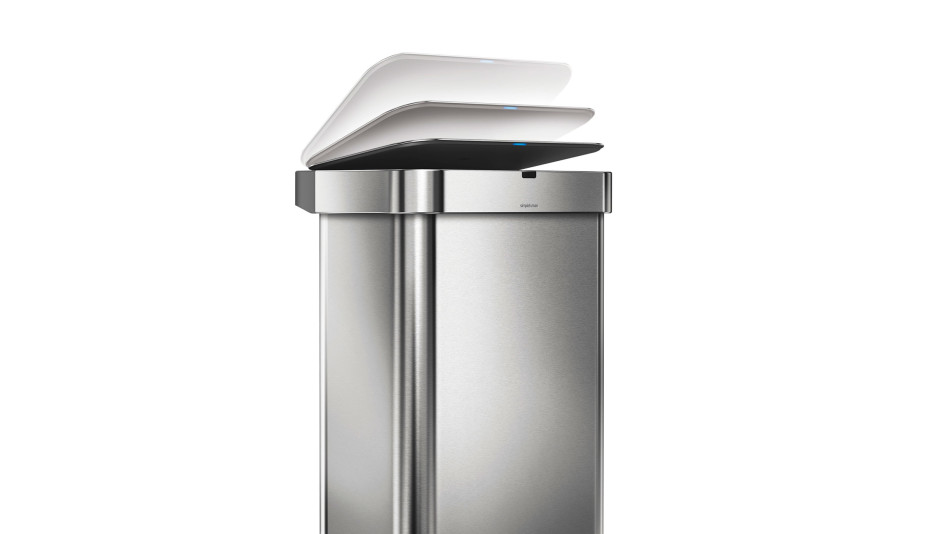 Innovative home products simplehuman trash can for Innovative home products