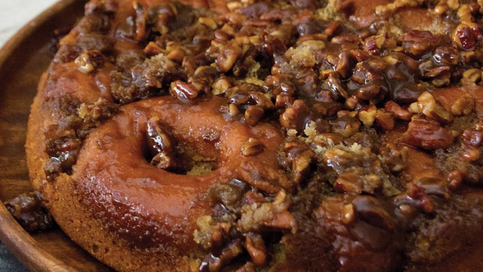 Doughnut Upside-Down Cake Recipe