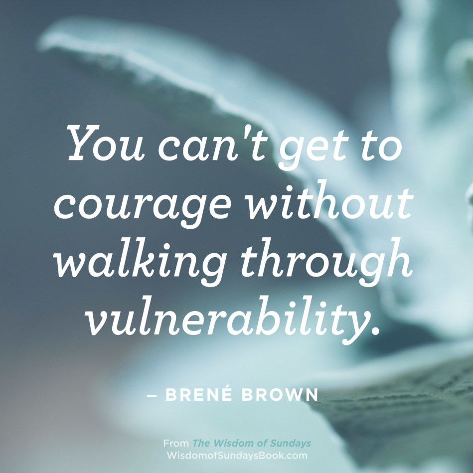 The Wisdom of Sundays Quotes - Brene Brown