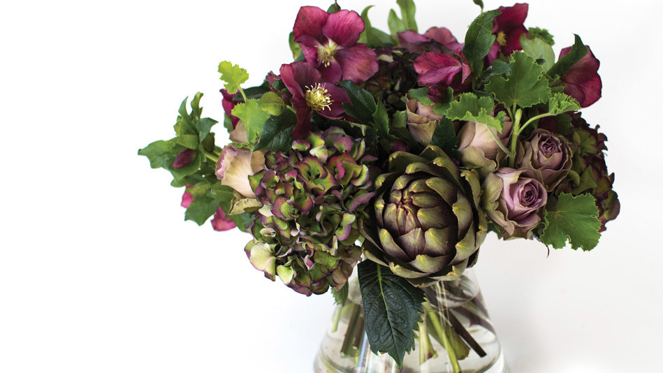 How to Make A Holiday Flower Centerpiece Video