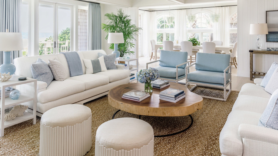 Blue and White Decorating Tips from Mrs. Howard