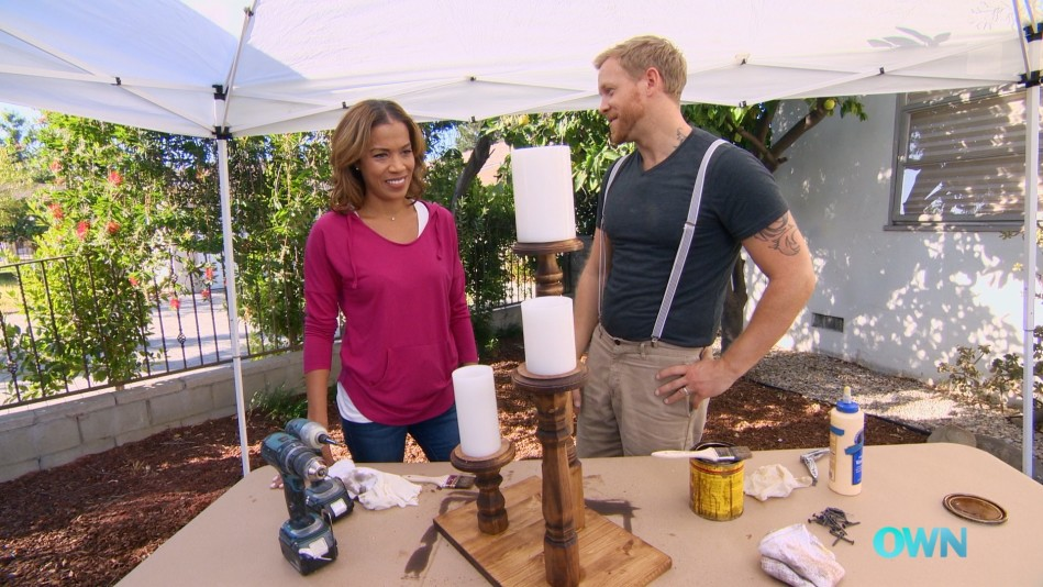 DIY Project: Turn Mismatched Table Legs Into Candlestick Holders