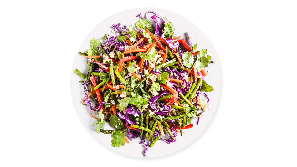 Garlic Ginger Quinoa Salad Recipe