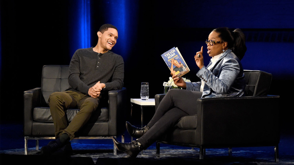 Trevor Noah on Super Soul Conversations with Oprah