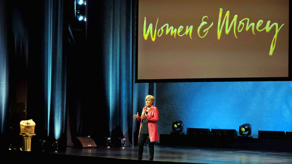 Suze Orman Makes The Audience Stand In Their Truth