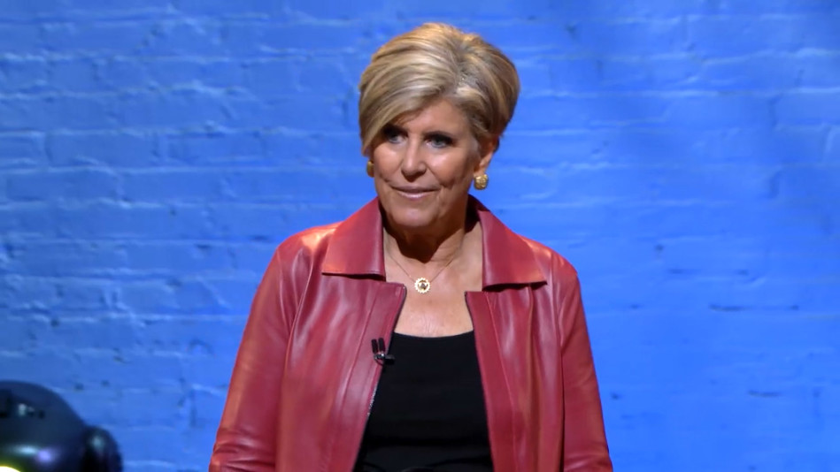 Suze Orman: 'Give to Yourselves As Much As You Give of Yourselves'