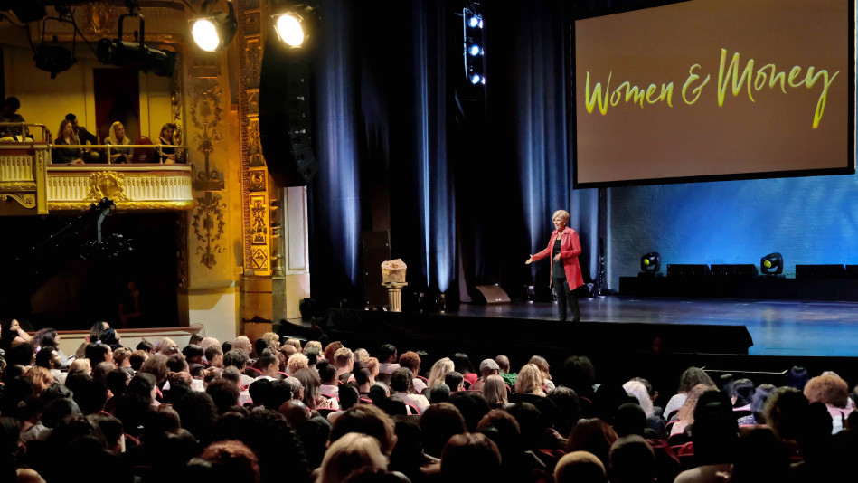 First Look: 'Suze Orman at The Apollo: Women and Money'