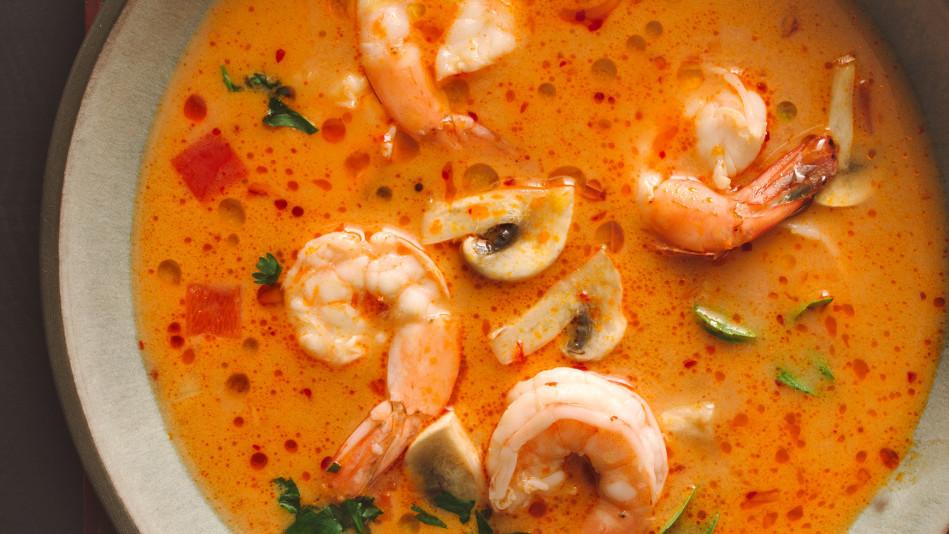 thai-style shrimp
