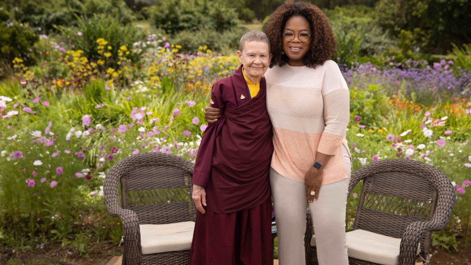 First Look: Oprah Sits Down With Pema Chodron