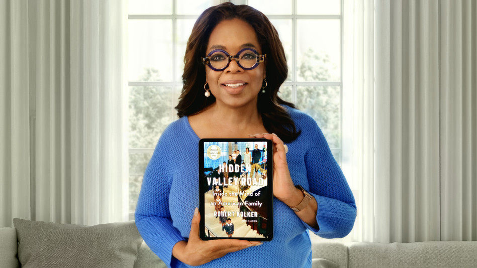 "Oprah's New Book Club Pick: ""Hidden Valley Road"" by Robert Kolker"