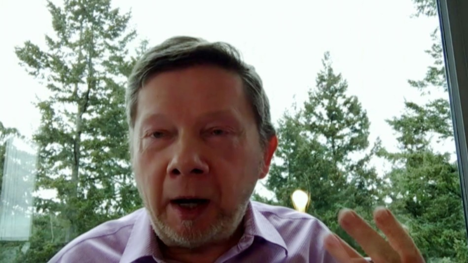 Eckhart Tolle on How to Deal with Isolation