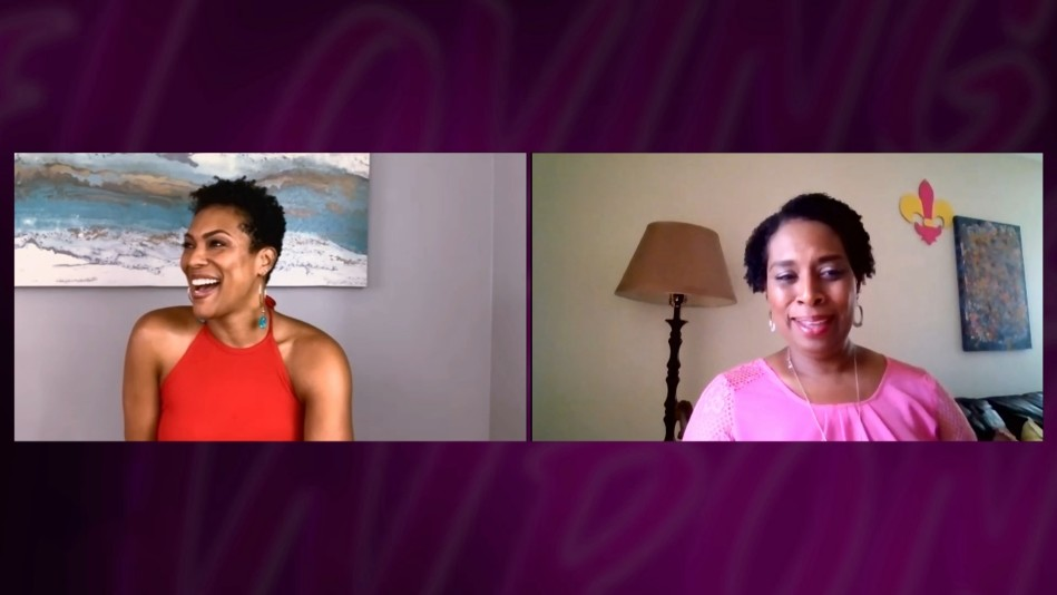 April Parker Jones Discusses Natalie and Lushion's Future