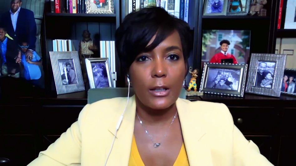 Mayor Keisha Lance Bottoms Sees a Silver Lining