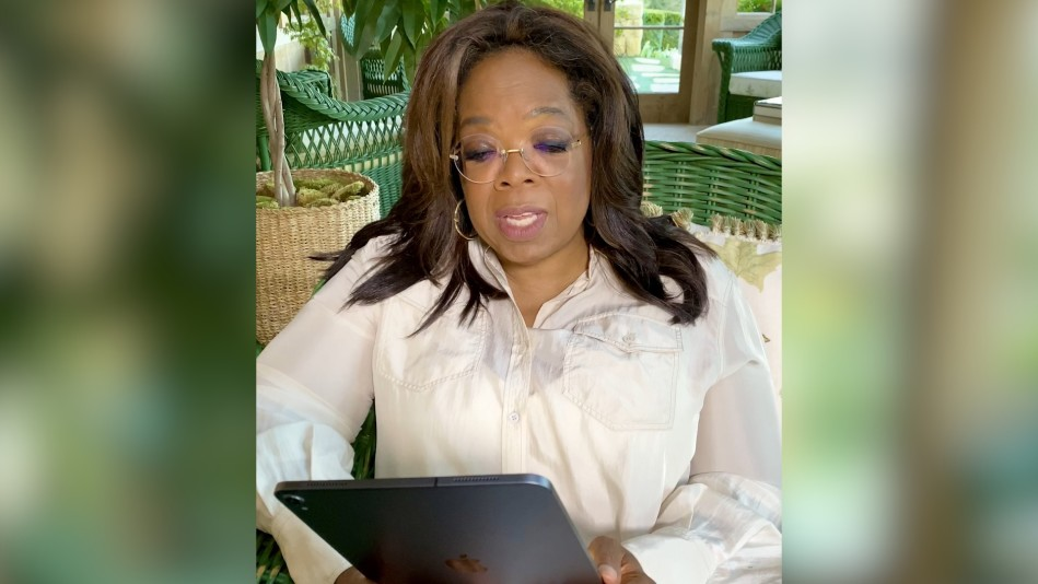 "Oprah Reads an Excerpt from ""Caste"" by Isabel Wilkerson"