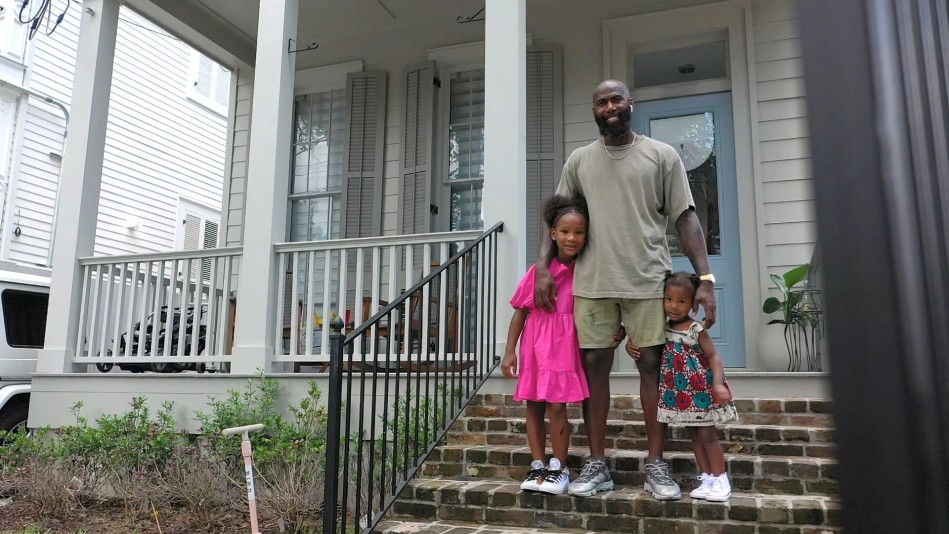 Malcolm Jenkins Loves Being a #GirlDad