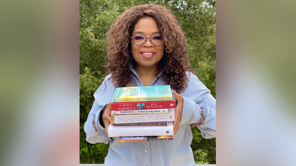 Oprah Shares the Books That Helped Her Through Hard Times