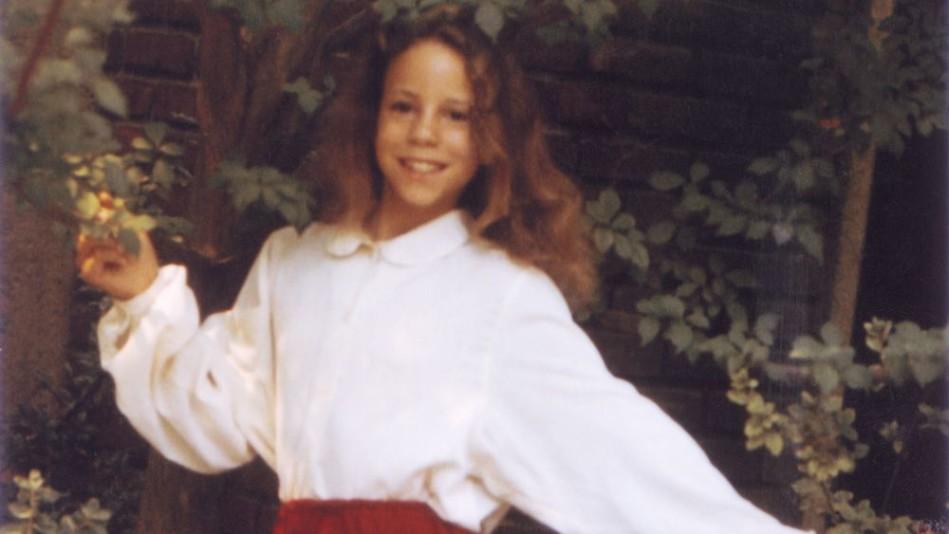 Childhood photo of Mariah Carey