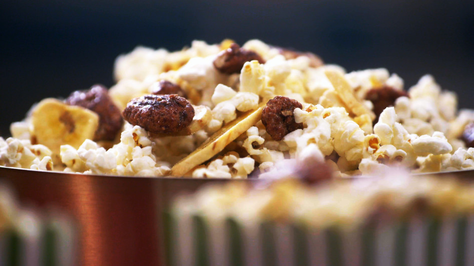 Chef Lovely's Bananas Foster Popcorn Recipe