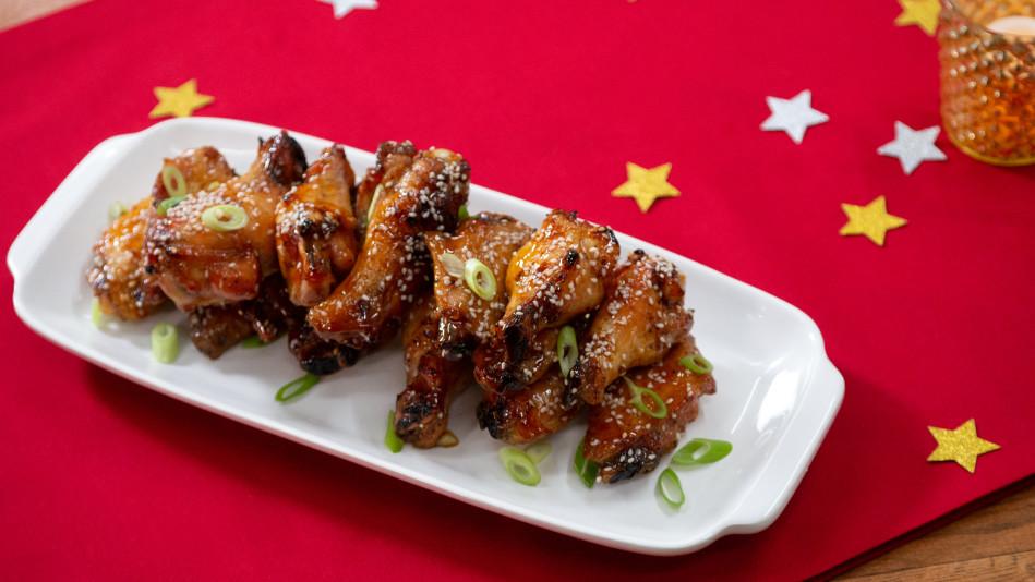 Sweet Chili-Glazed Wings
