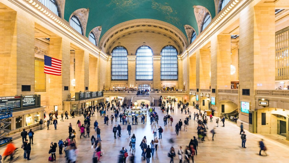 The inside of Grand Central Station in New York City