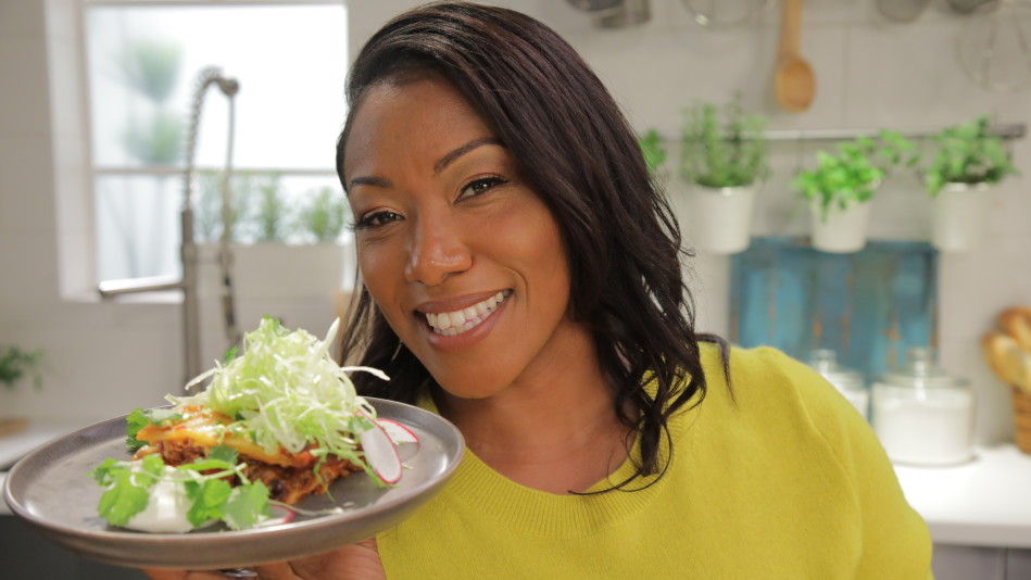 Chef Nyesha Arrington Makes Taco Lasagna