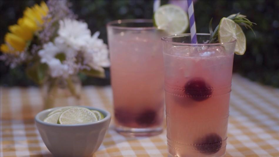 Cherry Tarragon Limeade Recipe