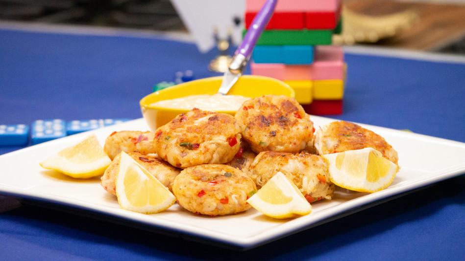 Shrimp and Crab Cakes with Spicy Citrus Remoulade Recipe