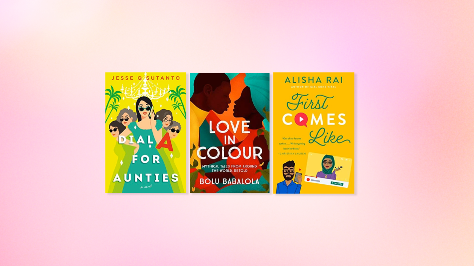Book covers for three new romance novels