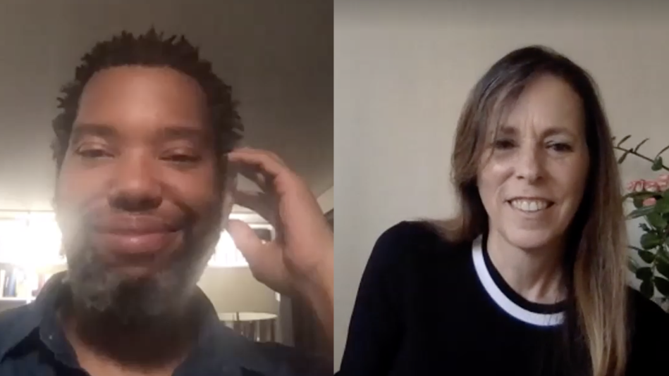 Lucy Kaylin and Ta-Nehisi Coates on Zoom