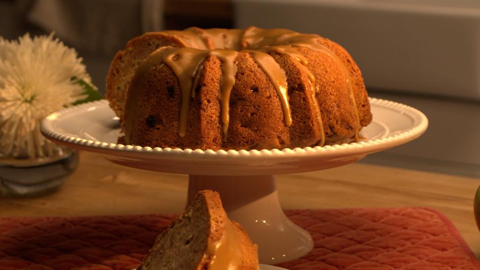 Apple Bundt Cake with Brown Sugar Glaze Recipe