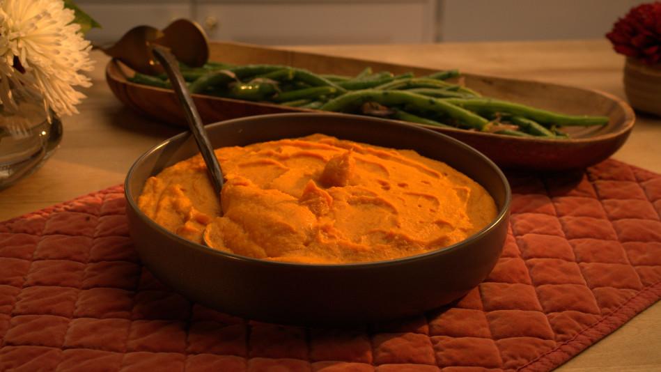 Smoked Mashed Sweet Potatoes Recipe