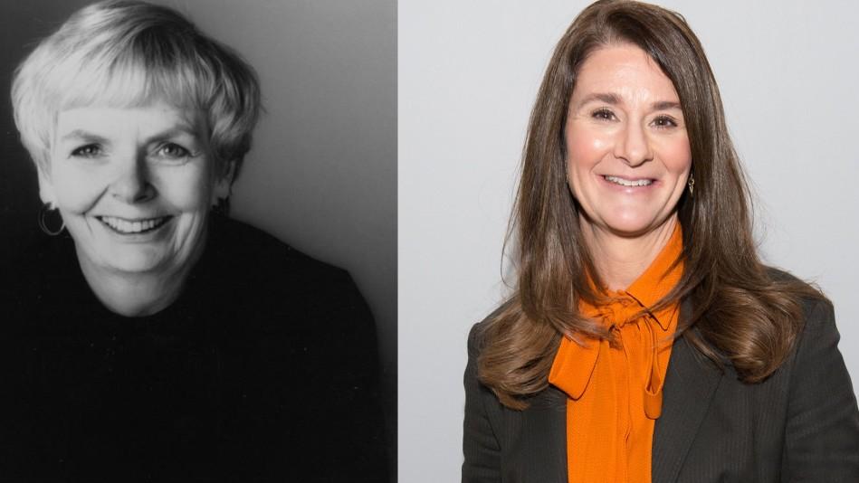 Carol Shields and Melinda Gates