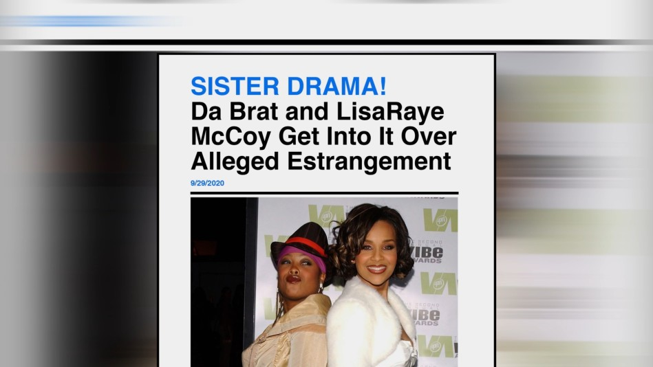 LisaRaye Shares How Da Brat's New Relationship Affected Her