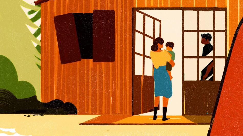 "Illustration for Erin Somers's Short Story ""Variations on the Same"""
