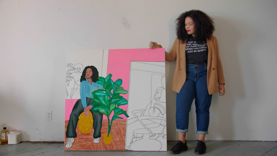 Tiffany Alfonseca's Vibrant Artworks Celebrate Afro-Latinx Culture