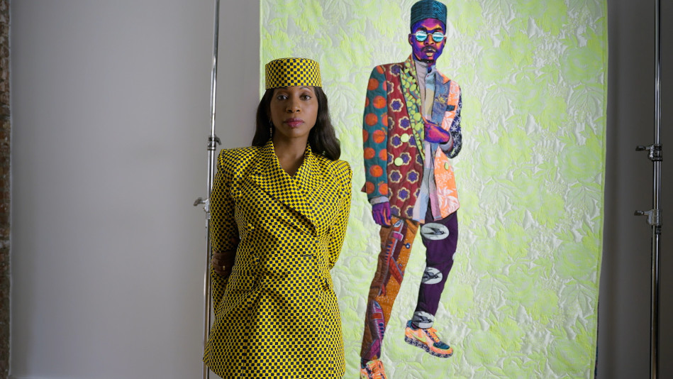 Bisa Butler Uses Quilting to Tell Stories About the African Diaspora