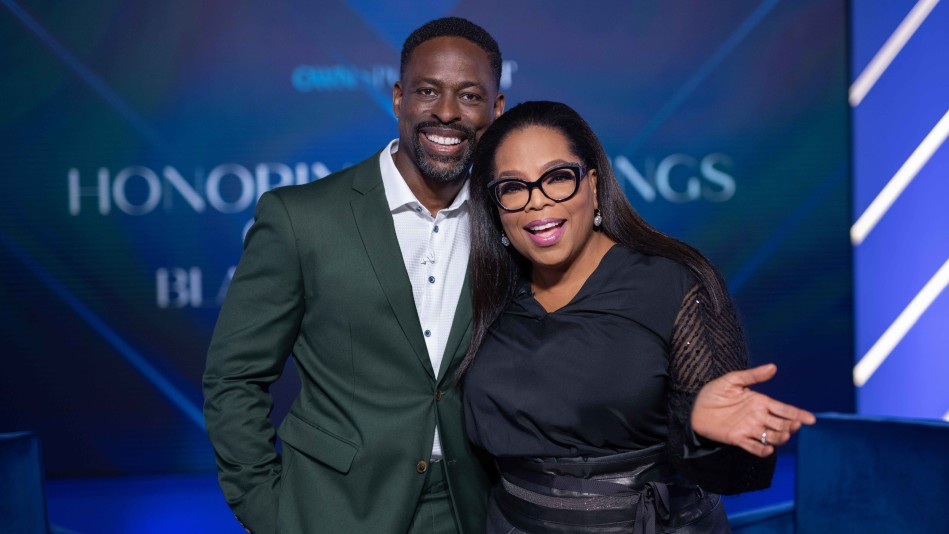 """Oprah Winfrey and Sterling K. Brown Introduce """"Honoring Our Kings"""""""