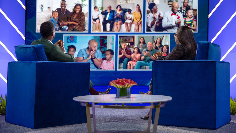 Oprah and Sterling K. Brown Give the Fathers a Surprise