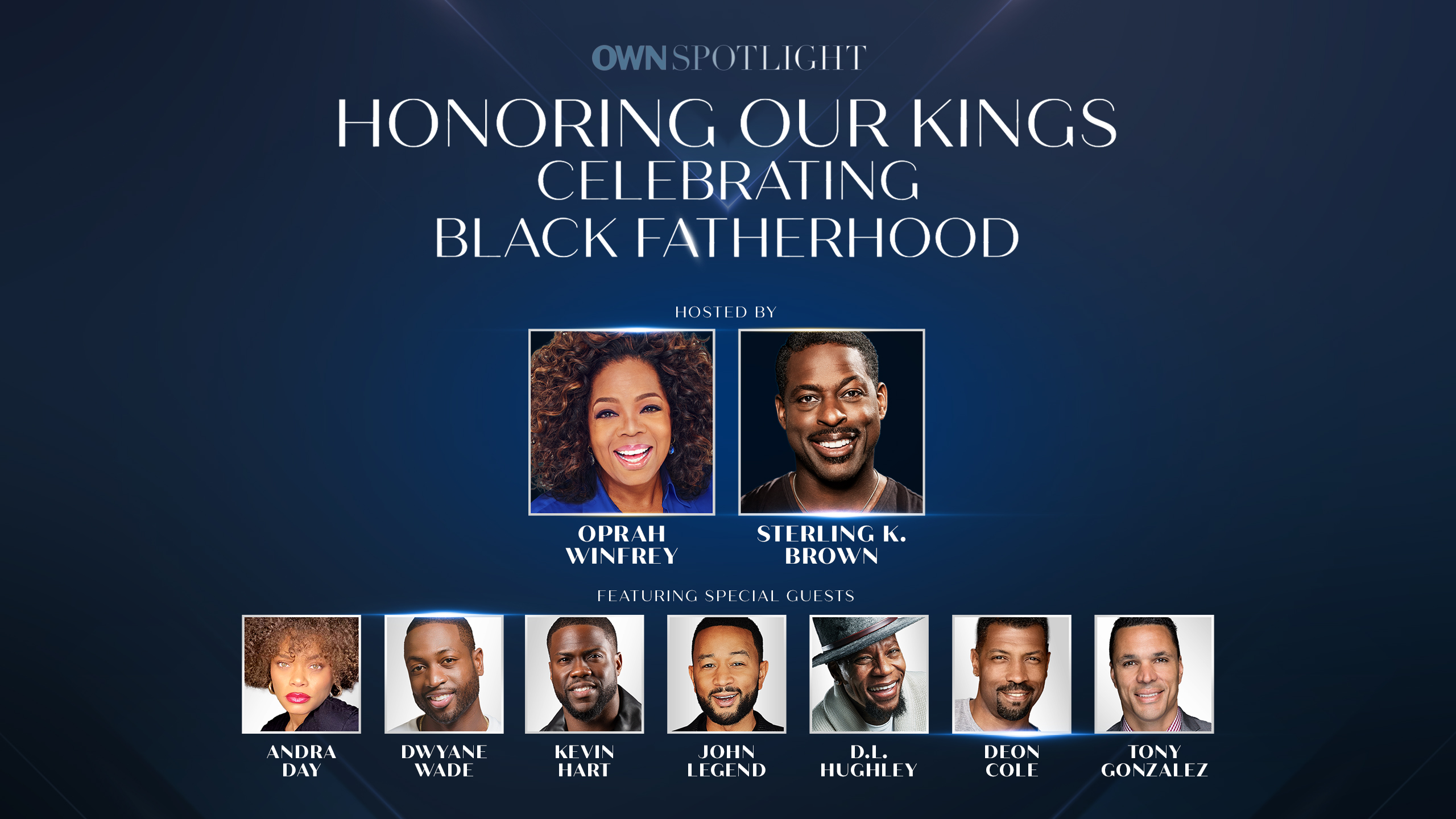"""Oprah Winfrey and Sterling K. Brown Celebrate Black Fathers in OWN Special, """"Honoring Our Kings: Celebrating Black Fatherhood"""""""