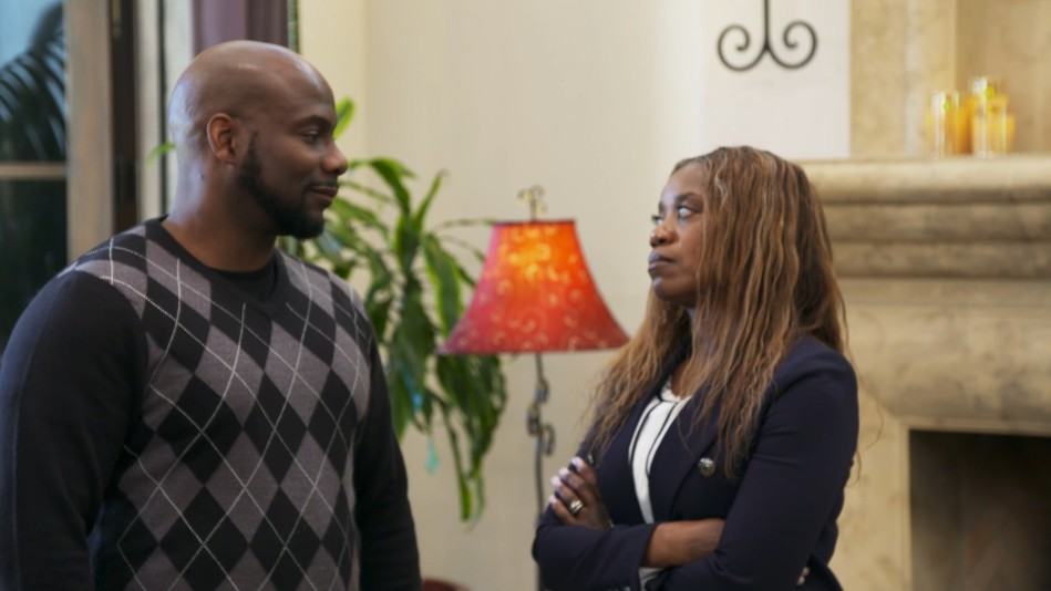 Kim's Sister Confronts David About His Anger Issues